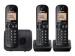 Telefoons - Digitale telefoon - KX-TGC213BLB