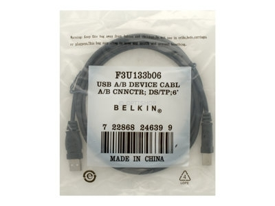 Belkin 6ft USB A/B Device Cable