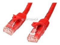 StarTech.com 7m Cat6 netwerkkabel met snagless RJ45 connectoren - 7 m - rood - UTP patchkabel