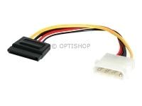 StarTech.com 15 cm 4-pins Molex naar SATA Voedingskabel Adapter